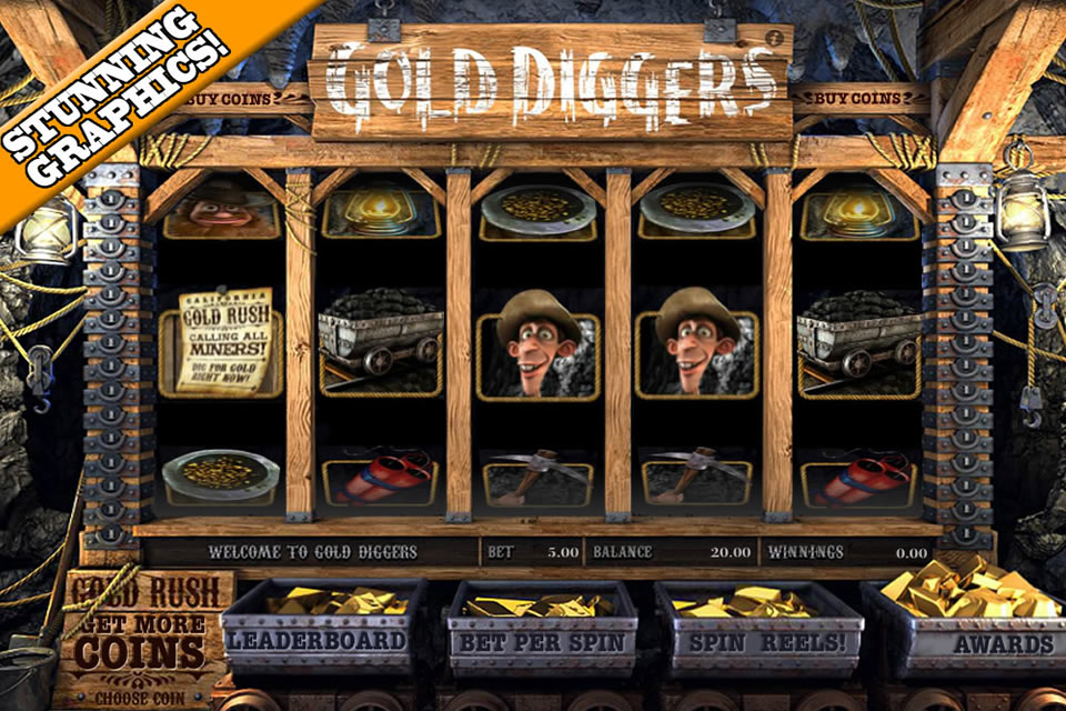 Screenshot Gold Digger 3D Slots